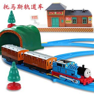 Electronic 2014 new thomas train track baby/kids boy Tomas and friends brinquedos motor train toys model with rail for children(China (Mainland))