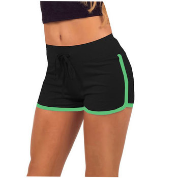 2015 Brand Fashion Summer Sports Women Shorts Leisure Elastic Waist Women Shorts Female Casual Yo-Ga Short Feminino