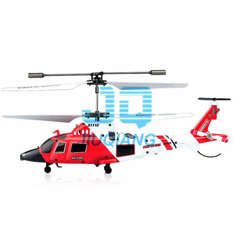 GENUINE SYMA S111G COAST GUARD RESCUE GYRO 3 CH INDOOR RC HELICOPTER RTF BRAND NEW(China (Mainland))