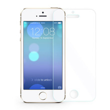0.2mm Tempered Glass Screen Protector For Apple Iphone 5 5s 5c 2.5d premium Toughened Protective Film + Cleaning Kit