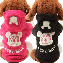 Buy 2017 New Cotton Spring Small Pet Dog Clothes Costume Cute Cartoon Bear Hoodie Coat Sweater Apparel Clothing Puppy Dogs for $2.80 in AliExpress store