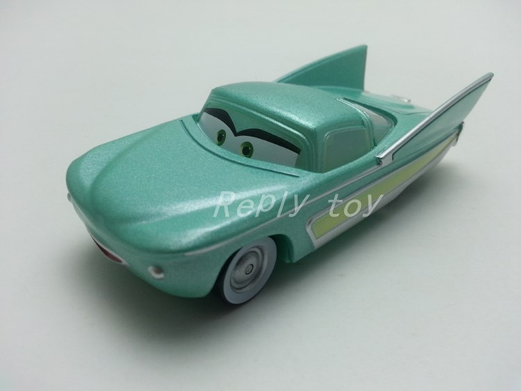 Pixar Cars Flo Metal Diecast Toy Car 1:55 Loose Brand New In Stock & Free Shipping(China (Mainland))