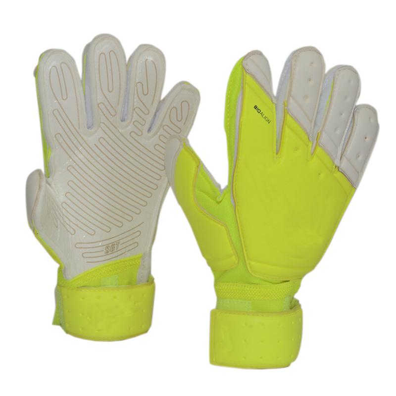 2016 Professional Brand Thicken 5mm Latex Football Goalkeeper Gloves Goalie Soccer Goal Keeper Gloves man(China (Mainland))