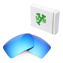 MRY POLARIZED Replacement Lenses for Oakley Eyepatch 1&2 Sunglasses Ice Blue