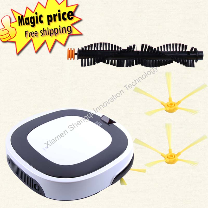 Intelligent Robot Vacuum Cleaner for Home D5501, HEPA Filter,Cliff Sensor,Remote control, dry and wet mop(China (Mainland))
