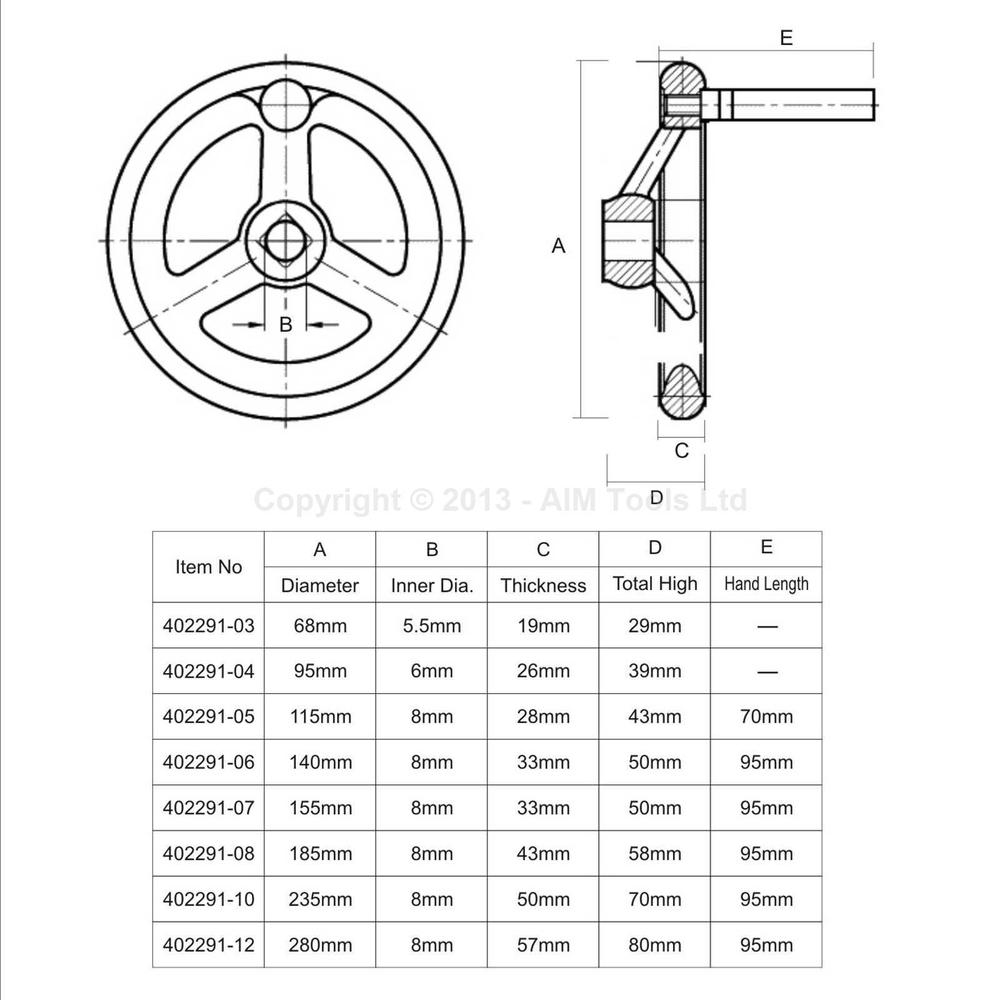 Купить Машина фрезерного токарного сбрасываемый чугун задняя бабка маховик 175 мм