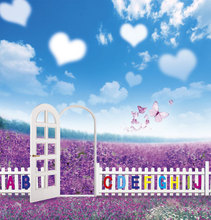 New Children Backdrops Photography Backgrounds Photo Studio Flowers Lavender Vinilos Backdrop For Photography