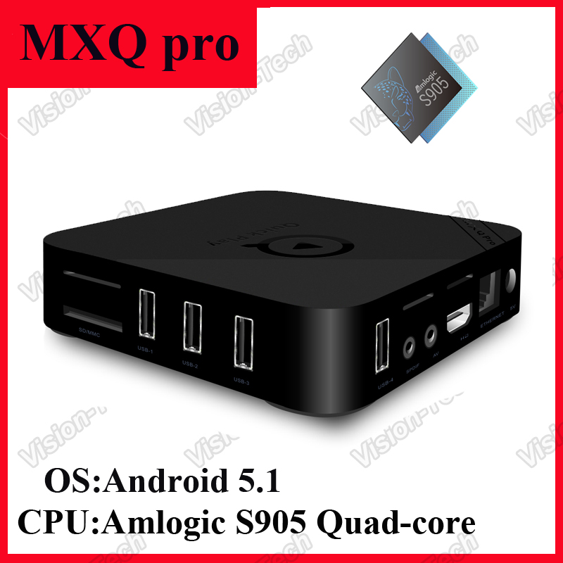 how to set time on mxq pro tv box