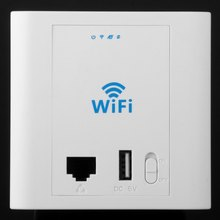 2015 hot sale LAFALINK PW300U24 IEEE 802.11n / g / b 300Mbps USB interface inwall ap access point wi-fi wireless router repeater(China (Mainland))