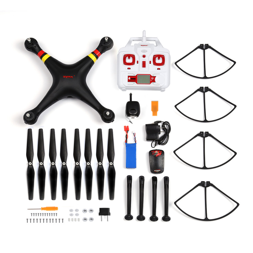 Original SYMA X8C X8 2.4G 4CH 6Axis Professional RC Drone Quadcopter With 2MP Wide Angle HD Camera Remote Control Helicopter