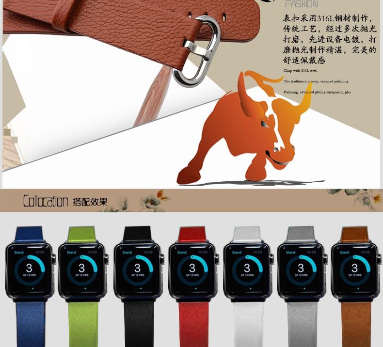 Часы аксессуары кожаный ремешок ультра-тонких нет зерна кожаный браслет мужчины и женщины браслет с разъемом