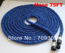 FREE FEDEX 100pcs/lot hoses of textile, hoses for home gardening extendable 75FT hoses wholesale HP006.free fe(China (Mainland))