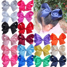 Buy 24 PCS 6 inch large hair bow Hair clips Kids Girl Teens Hair bow Boutique bow Hairpins Big bow Hair accessories U pick Colors for $18.00 in AliExpress store