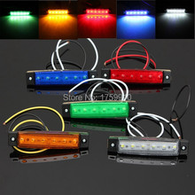LED Bus Truck Trailer Lorry Side Marker Indicator Light Sidelamp