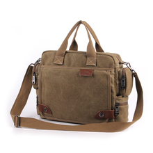 New Design! Bavi fashion canvas bag, male casual shoulder bags, men messenger bag, high quality canvas laptop briefcase(China (Mainland))