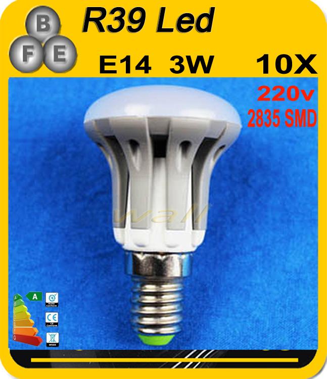 10pcs/lot free shipping E14 E27 LED bulb lamp light 3W 5W 7W LED light 185V-265V 220V 240V warm white/white R39 R50 R63(China (Mainland))