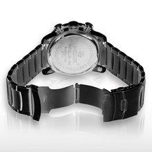 MEGIR Acero Inoxidable Men Luxury Brand Watches Military Men steel less JAM TANGAN TRENDI Role watch