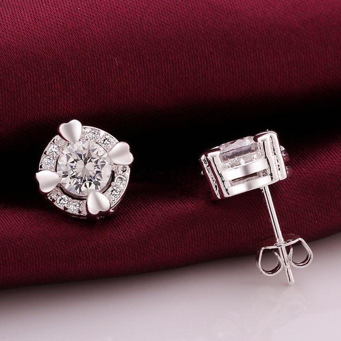 925 jewelry silver plated earrings , silver plated fashion jewelry ,  /cxbaloia eojanfqa LKNSPCE561-A