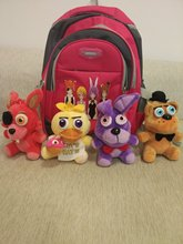 """FNAF 6.5"""" high doll plush five nights at freddy's quality match school bag free together with fast free shipping"""