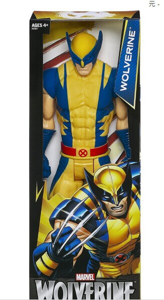 """Free Shipping Marvel Super Hero X-men Wolverine PVC Action Figure Collectible Toy 12""""30CM HRFG184(China (Mainland))"""