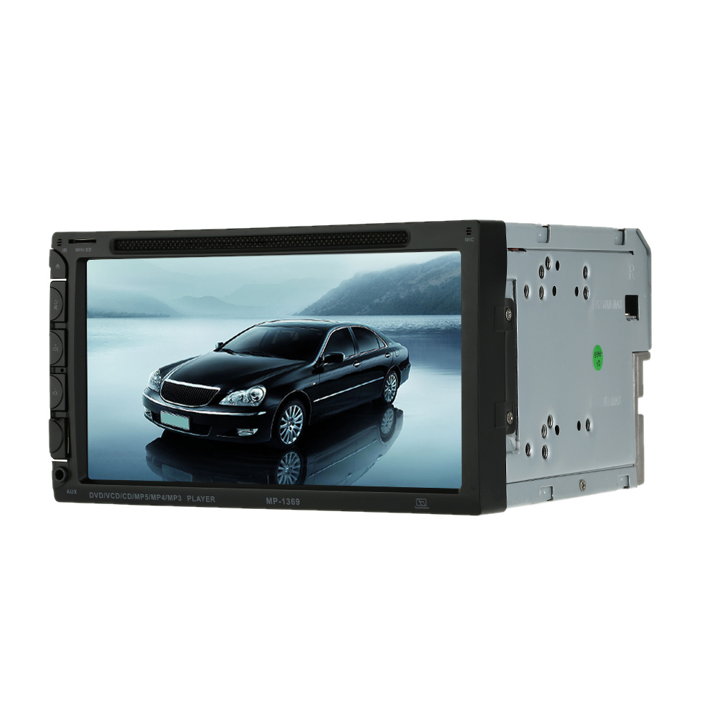 7 Inch Screen Double Din Car Radio CD/DVD Player for Golf v BMW e46 Opel Astra h VW Great Wall Hover h5(China (Mainland))