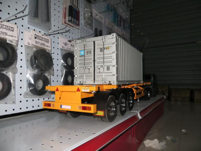 1/14 full metal containers standard 20 -foot container haulage trailer tail hanging Tamiya <br><br>Aliexpress