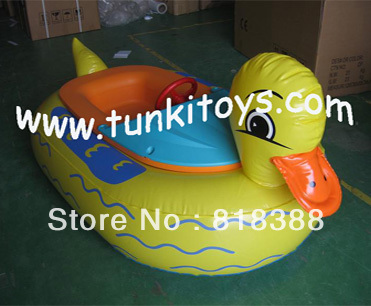bumper boat water aqua boat animal inflatable boat electric battery boat(China (Mainland))