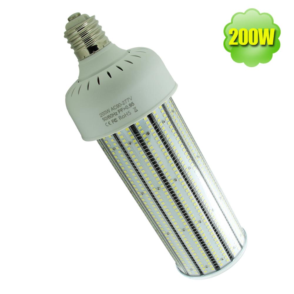 135 Lumens Per Watt IP64 UL Listing 200 Watts Mogul Base Led Corn Bulbs Convert to E25 1000 Watt HPS Light Bulb(China (Mainland))