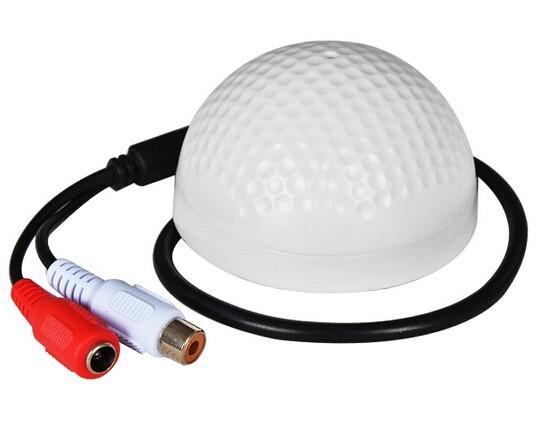 VIVETEK 4pcs a lot New CCTV Mic Microphone Sound Pick-Up security microphone for DVR cctv accessories