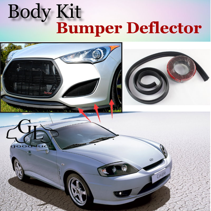 For Hyundai Coupe Tiburon Tuscani Bumper Lip / Front Spoiler Deflector For TOPGEAR Friends Car Tuning / Body Kit / Strip Skirt<br><br>Aliexpress