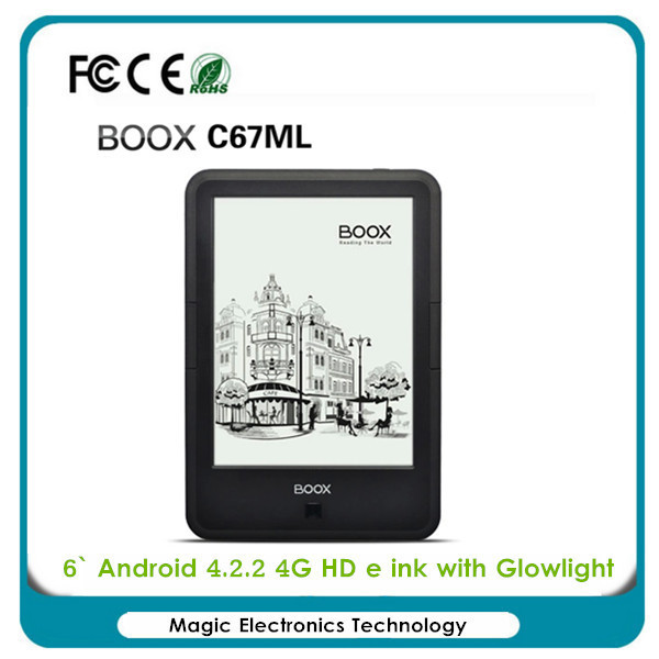 Hot ONYX BOOX C67ML 4G Wi-Fi Android 4.22 E-ink Touch Screen Ebook Reader 1024 x 758 with ebookself gift(China (Mainland))
