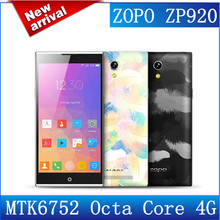 5.2'' Octa Core ZOPO ZP920 MTK6752 1.7Ghz 4G FDD LTE 2GB/16GB ROM FHD Screen GPS Android 4.4 Wifi Mobile Phone Free Shipping(China (Mainland))