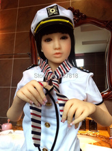 145cm Uniform sexy girl real silicone sex dolls japanese anime real life sex with doll porn