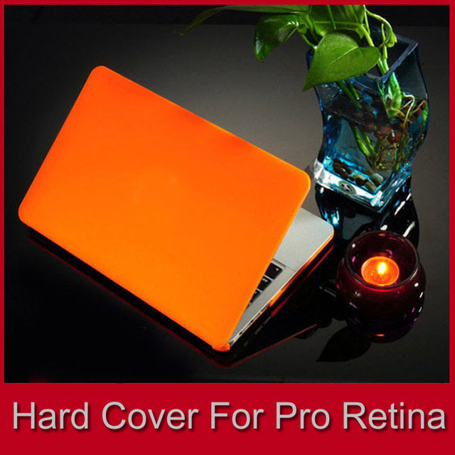 New Rubberized Hard Laptop Shell Cover For Apple Notebook Pro 13/15 inch Retina, Crystal Clear/Matte Type Case FREE SHIPPING