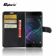 "Buy CYBORIS Luxury Phone Funda Case Doogee Shoot 1 Coque Flip Cover Bags Shoot 1 5.5""cover Fundas Stand Card Holder for $4.14 in AliExpress store"