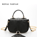 ROYAL TARTAN women leather handbag luxury handbags genuine leather designer shoulder bag brand women messenger bags