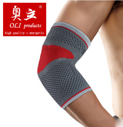 Silica gel sports elbow pads volleyball basketball elbow protection support coderas cotoveleiras free shipping #elbow6601(China (Mainland))