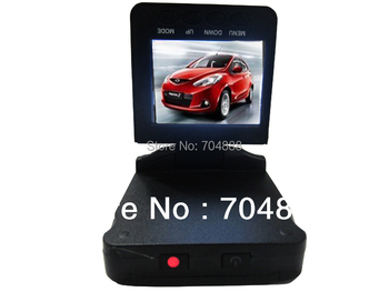 "HK post Free shipping H198 Car DVR Video Registrar with 115 Degree View Angle 2.5"" LCD 6 IR LED Night Vision DVR Car Camera"