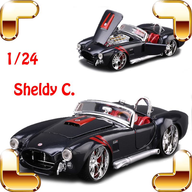 New Year Gift Maisto 1965 Shelby  C 1/24 Metal Model Sports Roadstar Car History Classic Style Vehicle Collection Alloy Toy Cars<br><br>Aliexpress