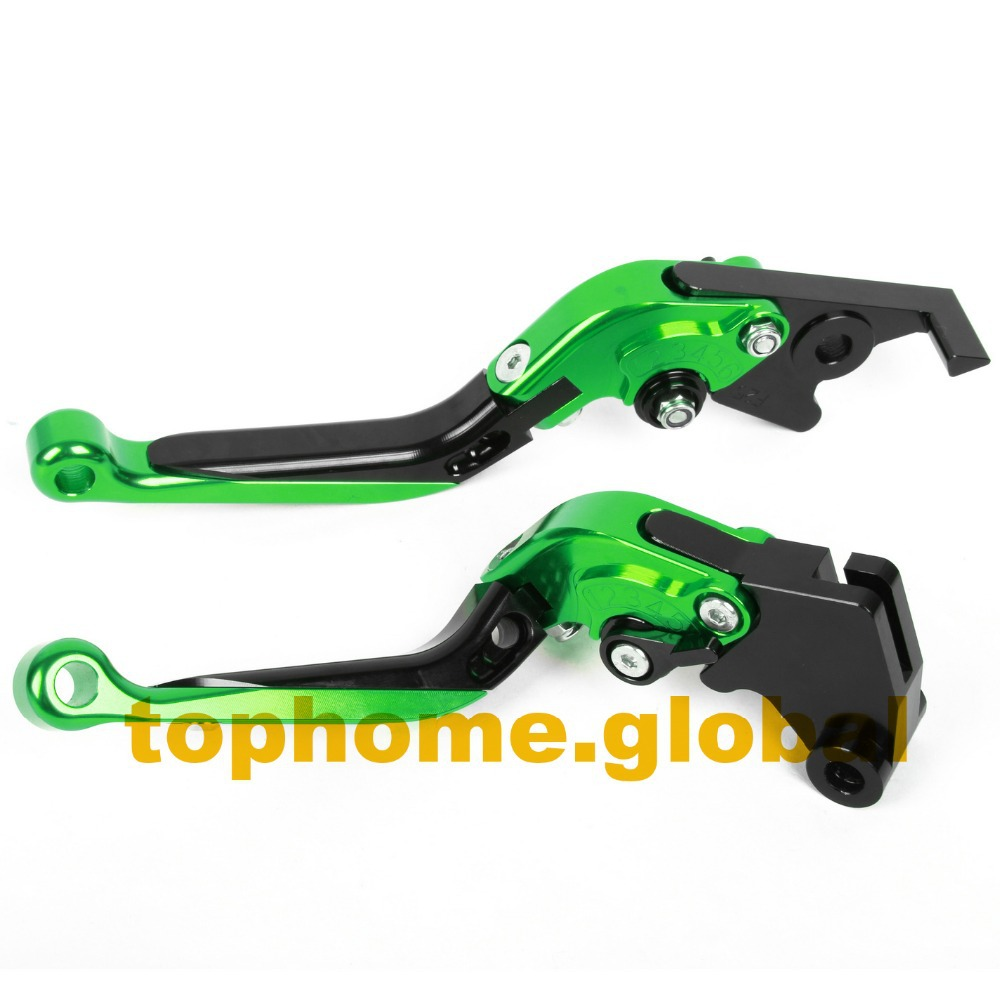 Motorcycle Accessories CNC Folding&Extending Brake Clutch Levers For Kawasaki Z750 (not Z750S model) 2007-2011 2008 2009 2010(China (Mainland))