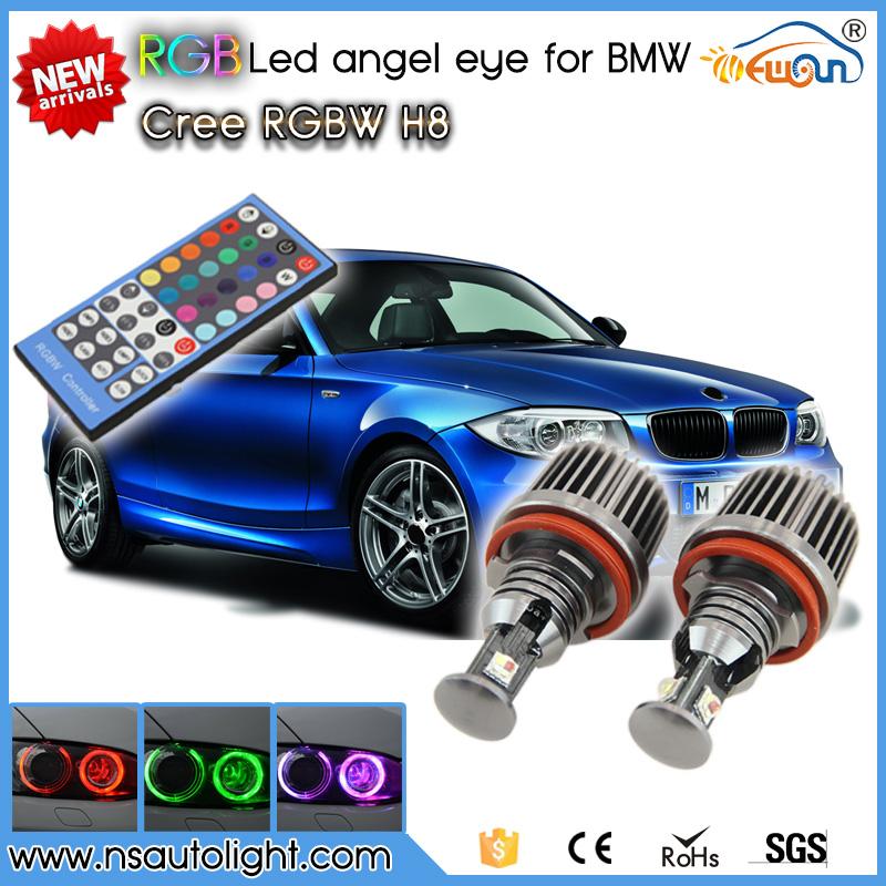 Newest! RGBW Remote control 36W rgb led marker Canbus Error Free for BMW E82 E87 E70 E71 E89 F01 F01 E90 E91<br><br>Aliexpress