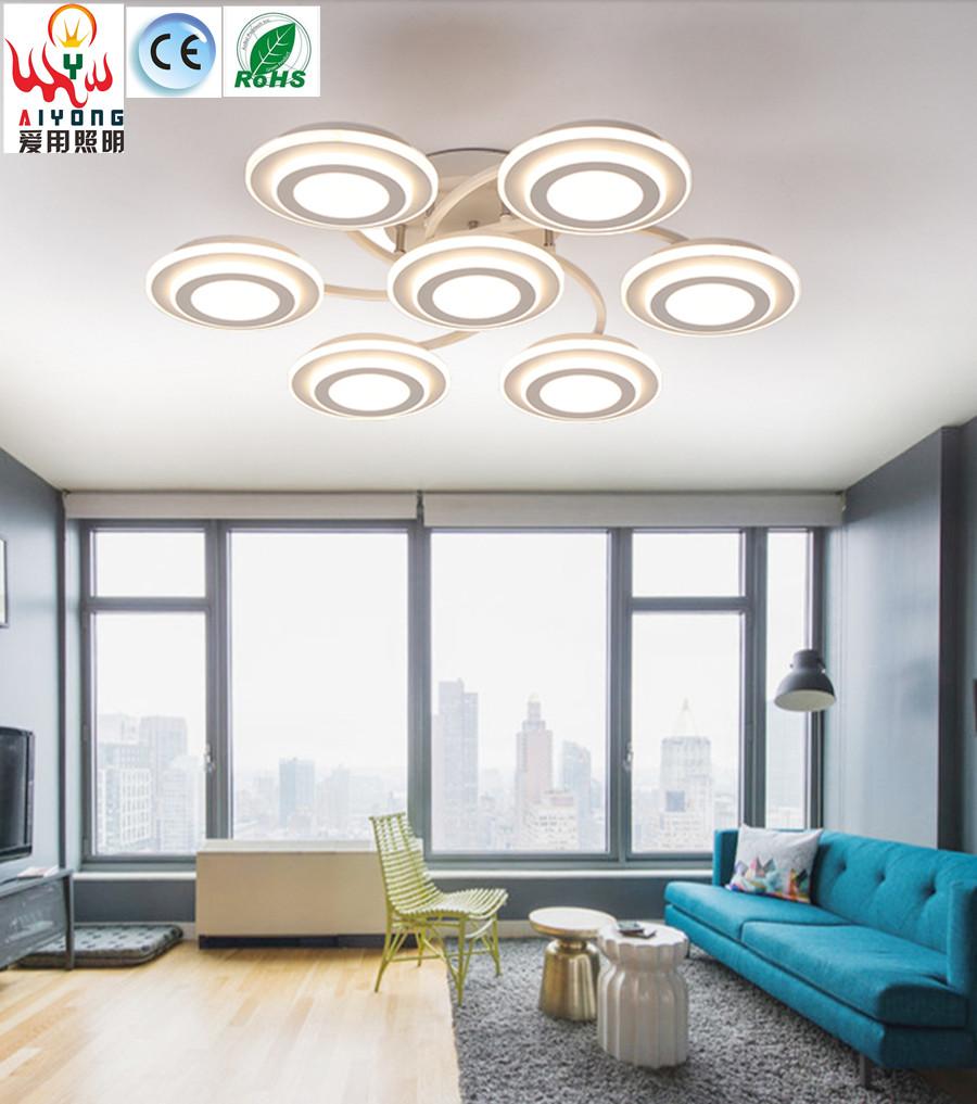 Online kopen wholesale led round glass ceiling light uit china led ...