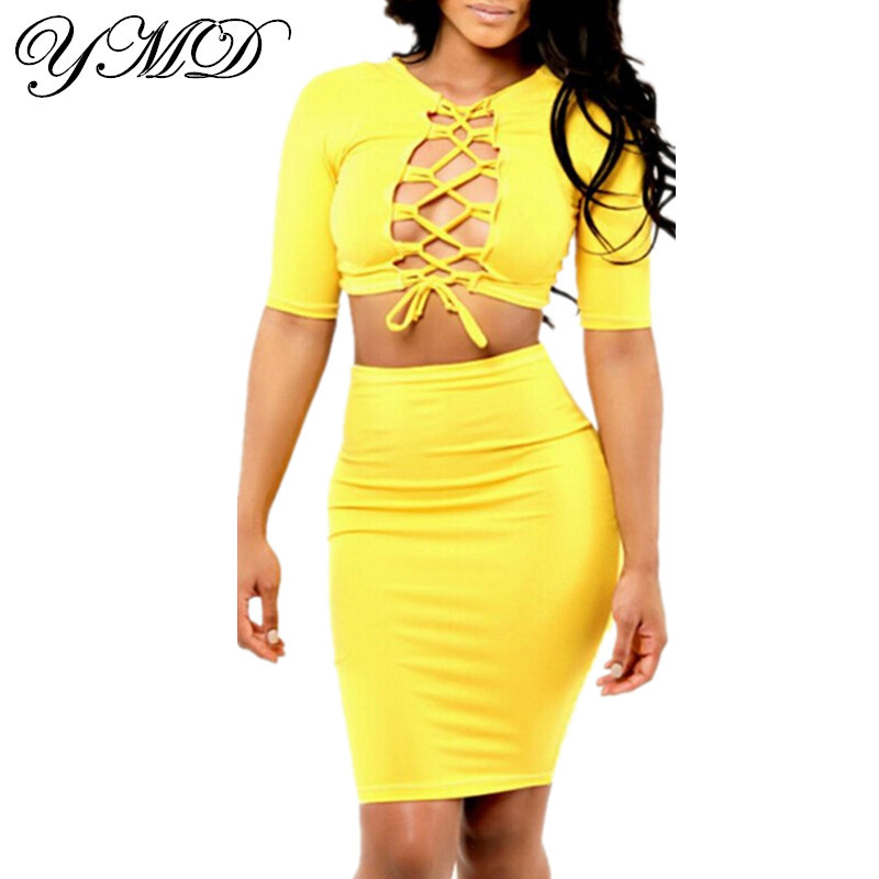 aliexpress buy yellow plus size two dress