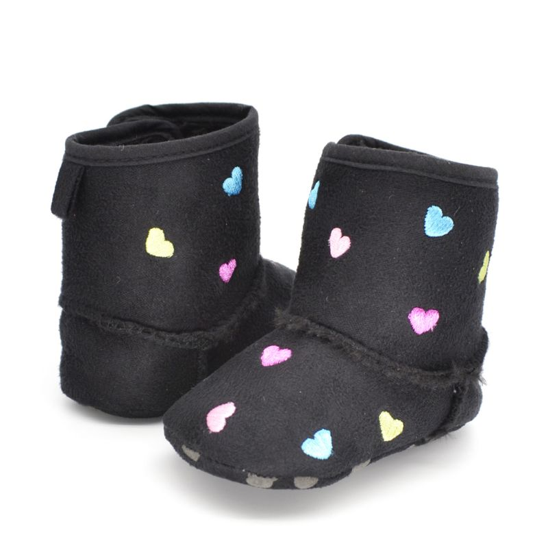 Winter Warm Shoes Toddler Kids Baby Girls Soft Sole Crib Shoes Zip Anti-slip Boots 0-18M Best(China (Mainland))
