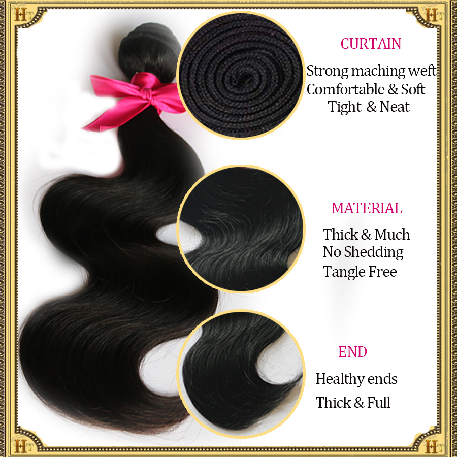 Rosa Hair Products Brazilian Virgin Hair Body Wave 3Pcs Lot 100% Human Hair Cheap Brazilian Body Wave Brazilian Hiar Bundles(China (Mainland))