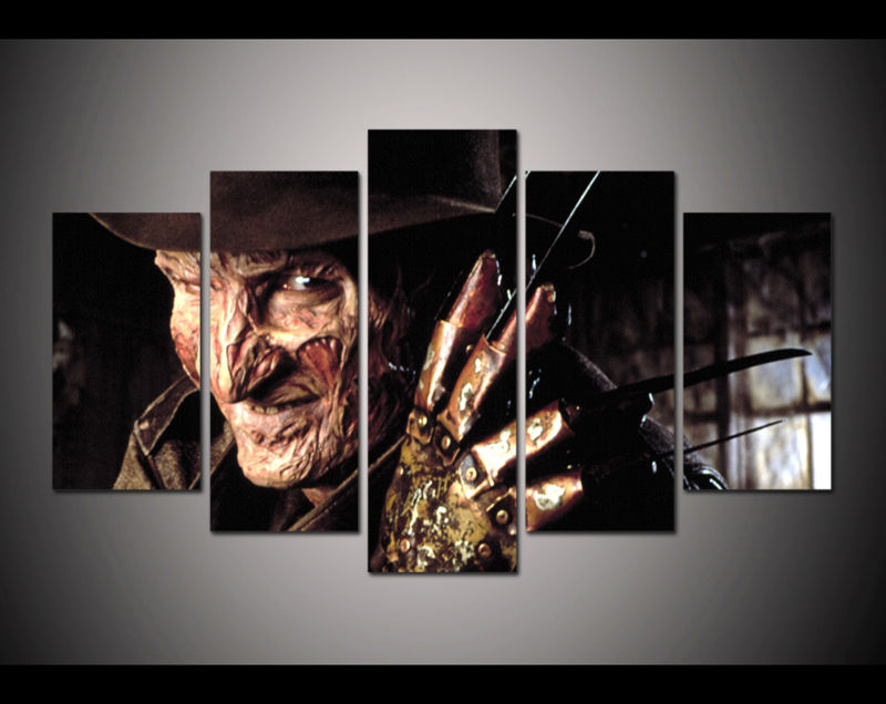 Horror paintings promotion shop for promotional horror for American horror story wall mural
