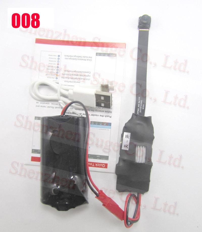 Wireless SPY WIFI Camera Module Board Micro HD 1080P / 720P P2P IP H.264 Camcorder DVR Cam 5.0MP Candid Video Camera Espia(China (Mainland))