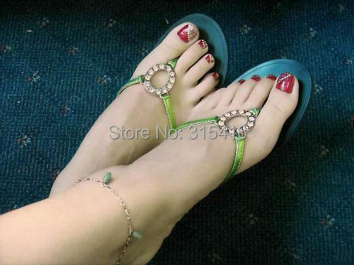 girls solid silicone doll Pussy foot Feet model Anklets Display props whitening skin dolls(China (Mainland))