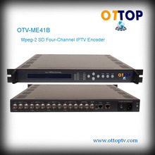 OTV-ME41B Mpeg-2 SD Four-Channel IPTV Encoder