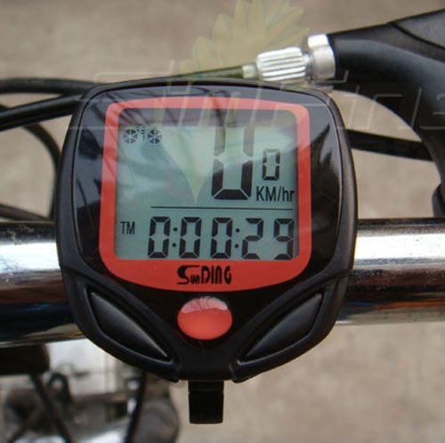 New Cycling Bike Bicycle Wired Cycle Computer Odometer Speedometer Waterproof AM1005(China (Mainland))